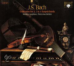 J.S. Bach - Concertos for 2, 3 & 4 harpsichords