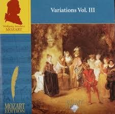 Mozart - Variations vol. III
