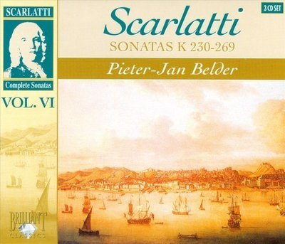 Scarlatti - Sonatas vol. VI