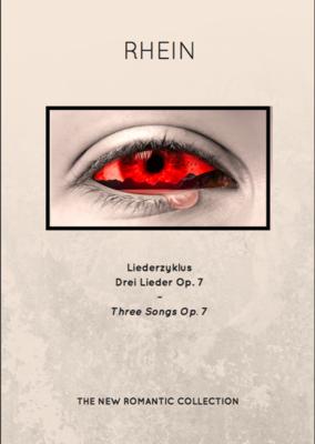 Liederzyklus - Drei Lieder Op. 7