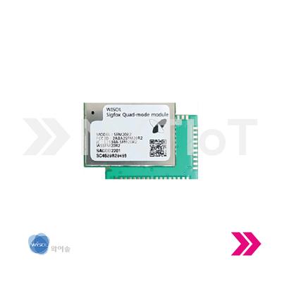Módulo - Sigfox + WiFi + BLE - SeongJi (Wisol) SFM20R2AT Quad Mode (Zona 2)