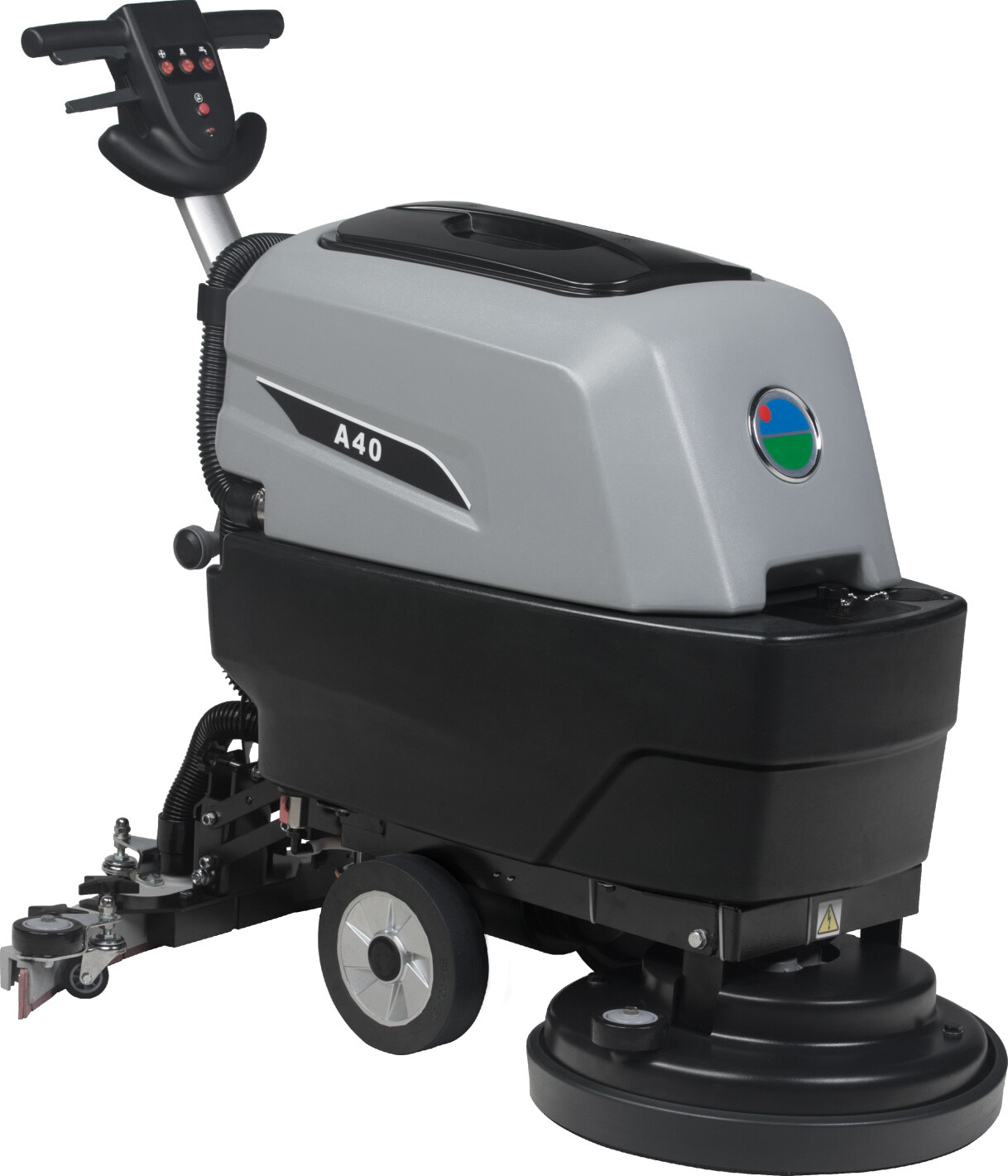 Auto Floor Scrubber Machine 17'' with Battery and Brush