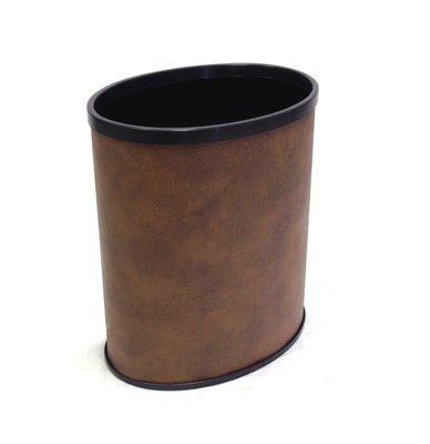 Leather dustbin 4Gallon AF07001