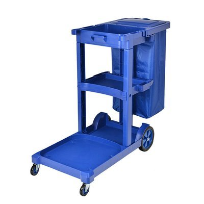 Commercial Janitorial cart Tool Car with Vinyl Bag With Cover
