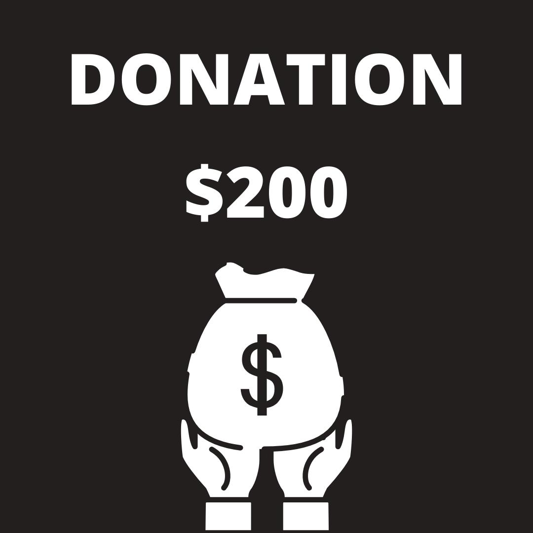 Donation, Membership, or Vendor Fee 00007