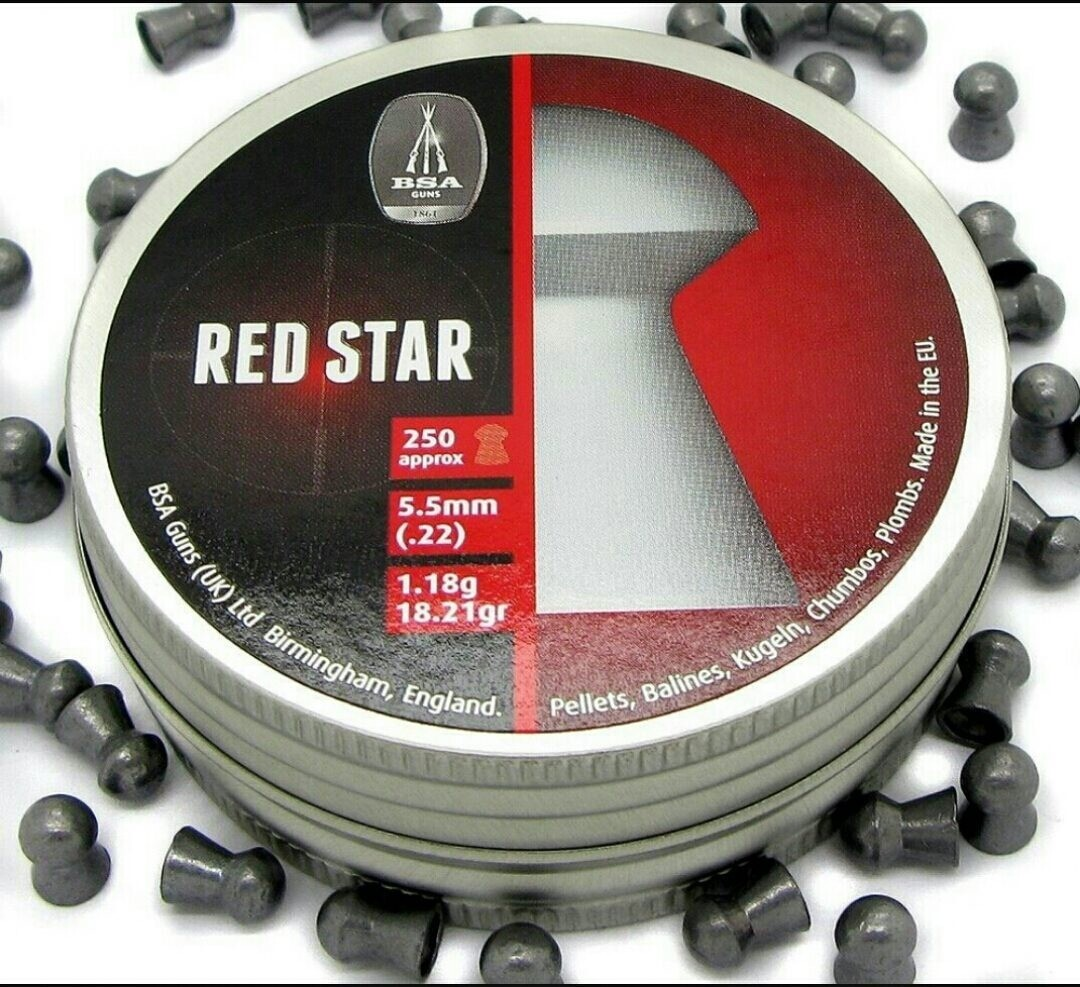 DIABOLO BSA RED STAR 5.5