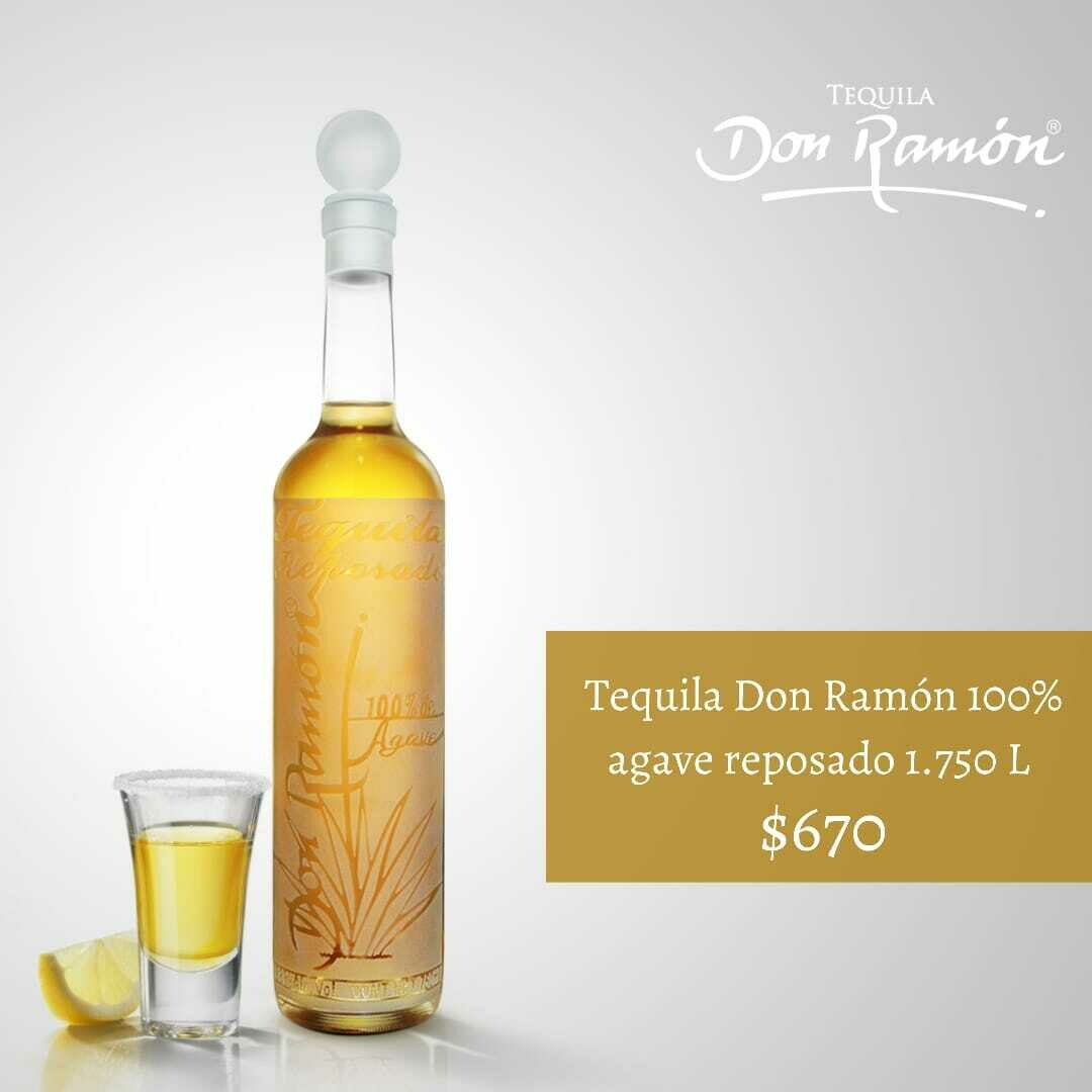 Tequila Don Ramon reposado 1.750 lt Personalizado