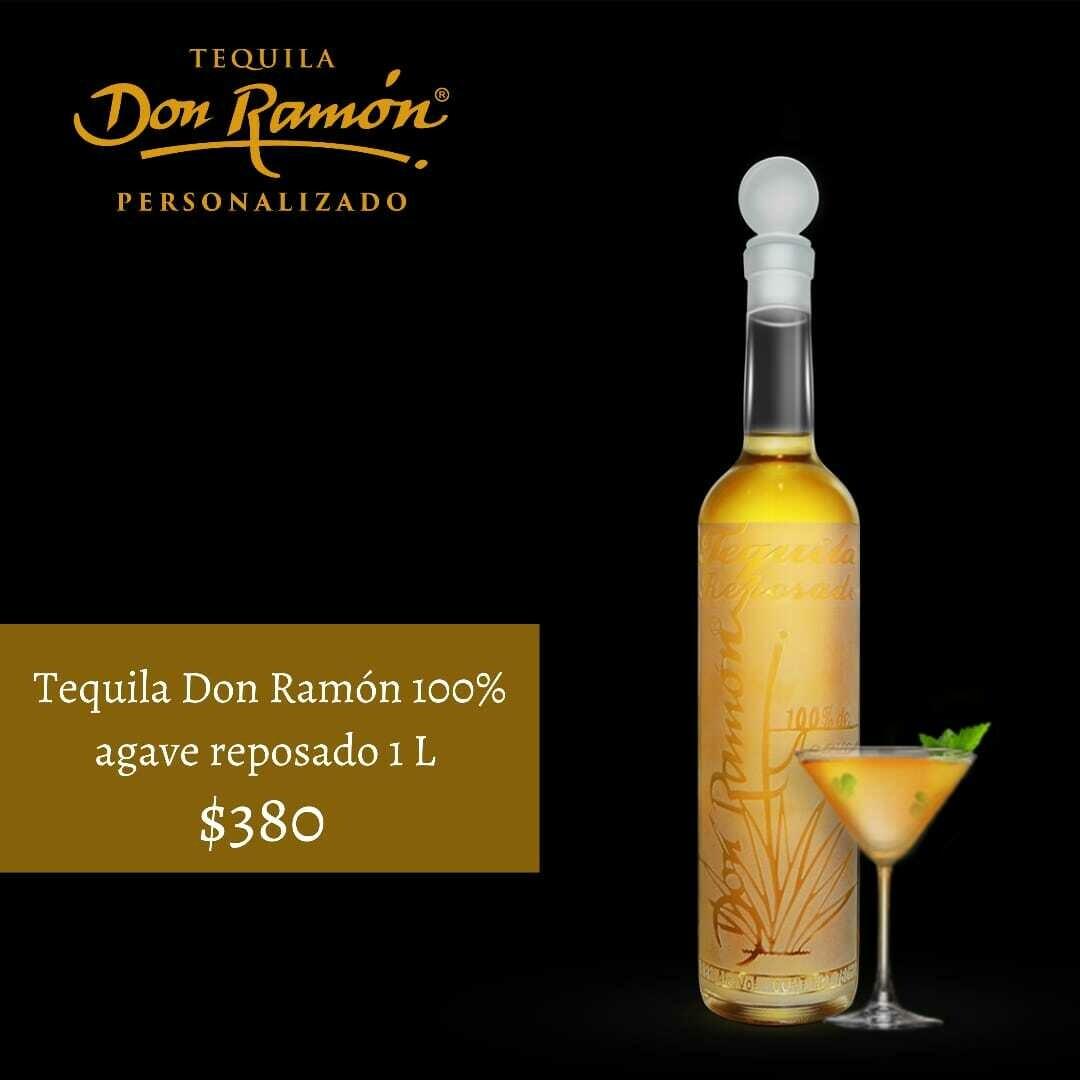 Tequila Don Ramon reposado 1 lt Personalizado