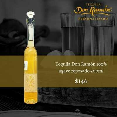 Tequila Don Ramon reposado 200ml Personalizado