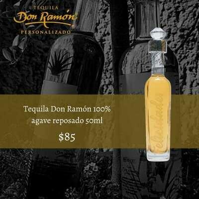 Tequila Don Ramon reposado 50ml Personalizado
