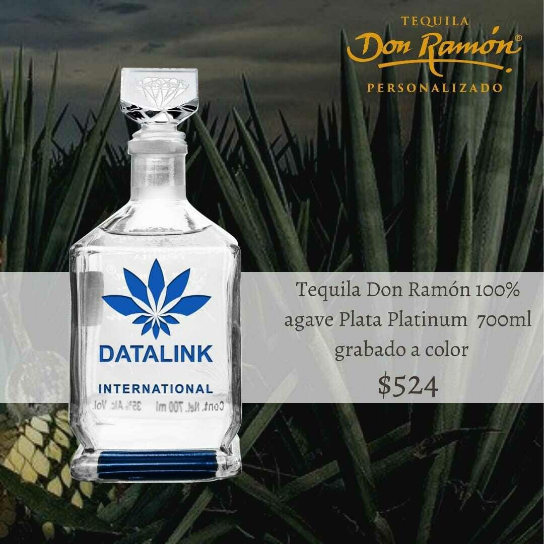 Tequila Don Ramon Plata Platinum 700 ml Personalizado