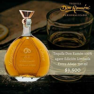 Tequila Don Ramon Edición Limitada Extra Añejo 750 ml Personalizado