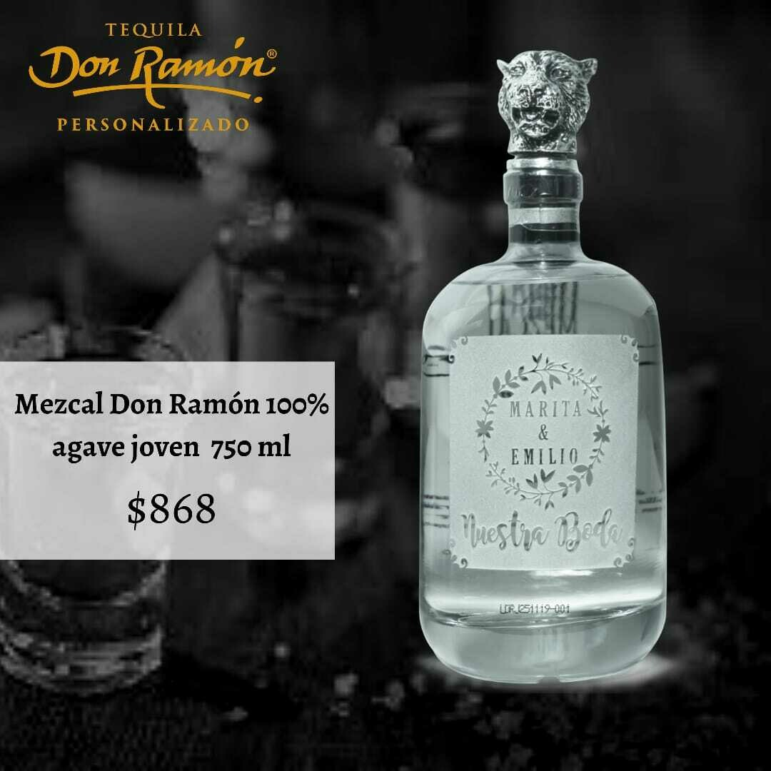 Mezcal Don Ramón Joven 750 ml