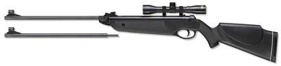 Rifle Beeman Black Cub dos cañones
