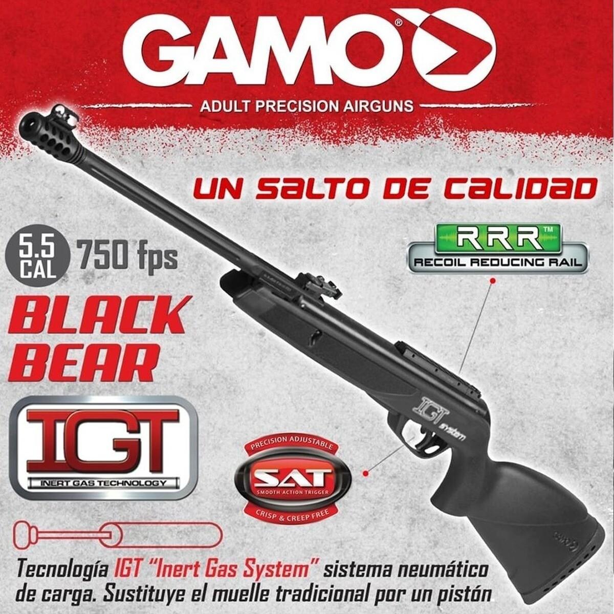RIFLE GAMO BLACK BEAR 5.5 IGT