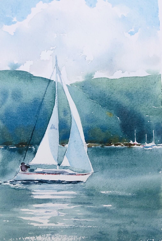 Sailing on Pittwater - Video tutorial -  39 mins - medium