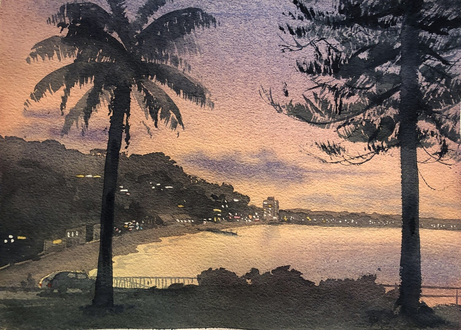 ZOOM ONLINE STAGE 4 Wednesday Morning - Guided Paintings -  Remainder 6-7 weeks to 16th Dec. (Full term was $330)