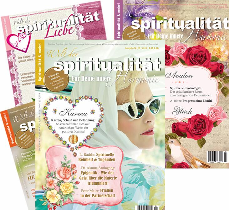 """""""Welt der Spiritualität"""" Abonnement für das Ausland"""