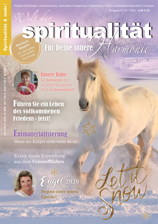 """""""Welt der Spiritualität"""", Nr. 01 / 2020"""