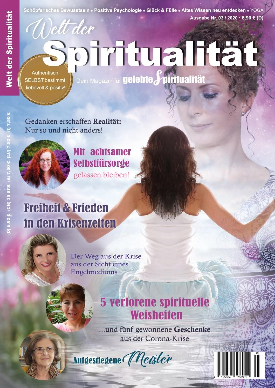 """""""Welt der Spiritualität"""", Nr. 03 / 2020"""