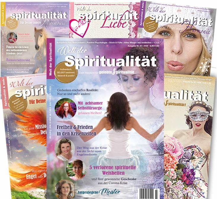 """""""Welt der Spiritualität"""" Abonnement für Deutschland"""