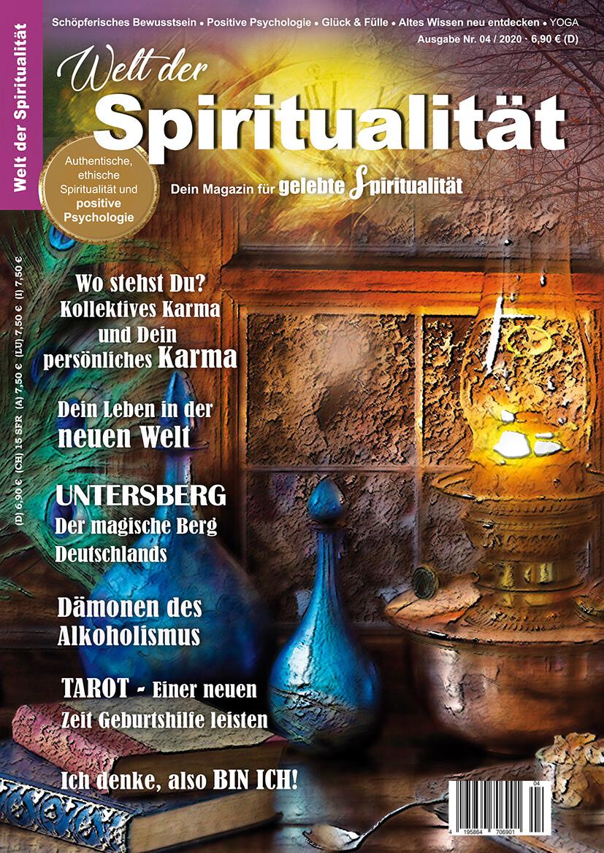 """""""Welt der Spiritualität"""", Nr. 04 / 2020"""