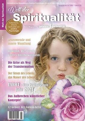 """""""Welt der Spiritualität"""", Nr. 01 / 2021"""