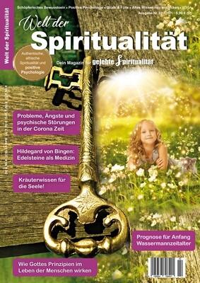 """""""Welt der Spiritualität"""", Nr. 02 / 2021"""