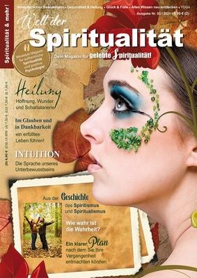 """""""Welt der Spiritualität"""", Nr. 03 / 2021"""