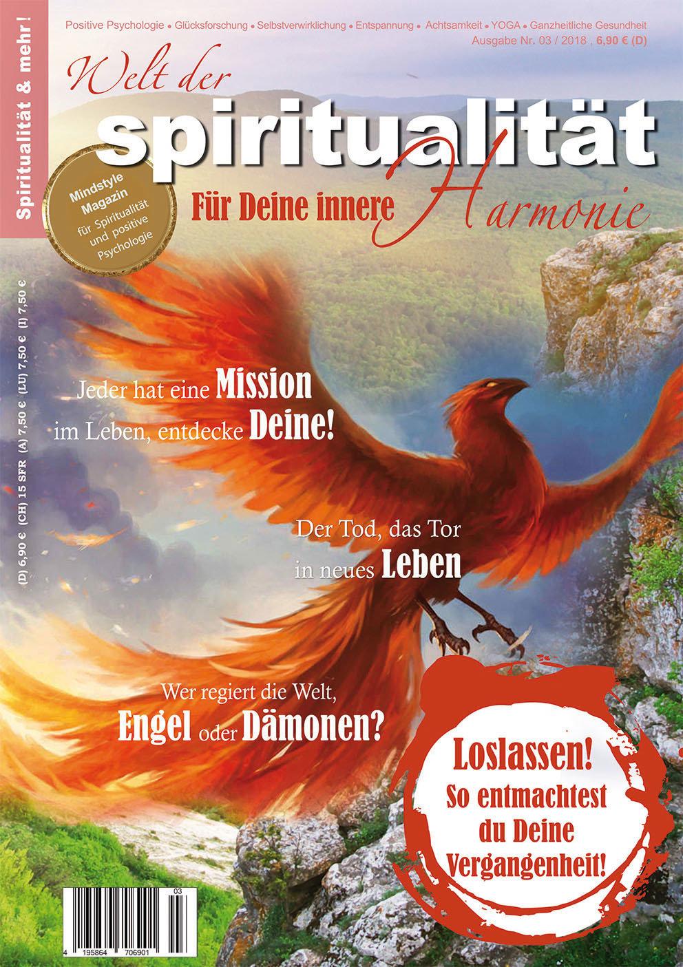 """""""Welt der Spiritualität"""", Nr. 03 / 2018"""