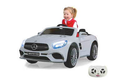 Ride-on Mercedes SL65 white 12V JAMARA