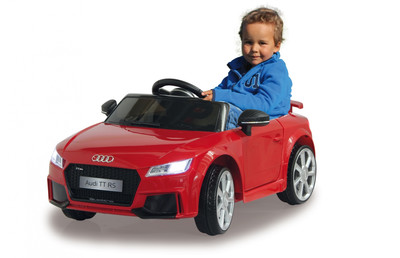 Ride-on Audi TT RS rosso 12V JAMARA