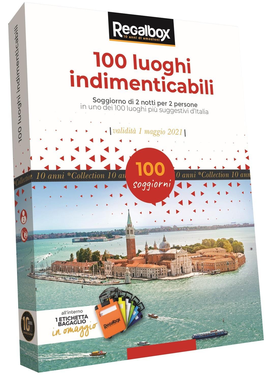 100 luoghi indimenticabili REGALBOX