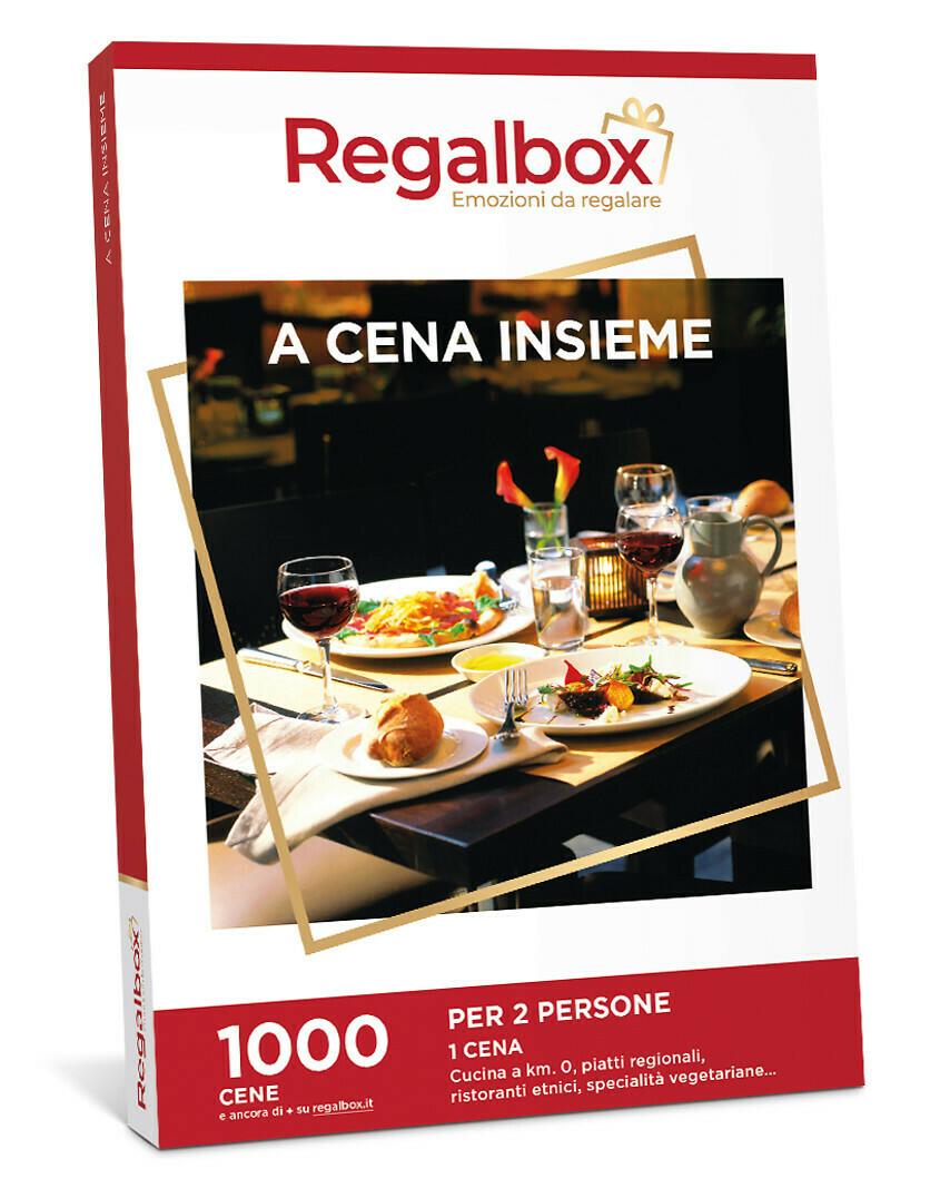 A CENA INSIEME MARCHIO REGALBOX