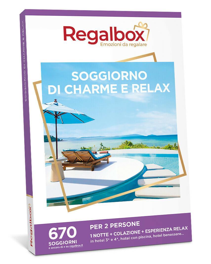 Soggiorno di charme e relax MARCHIO REGALBOX