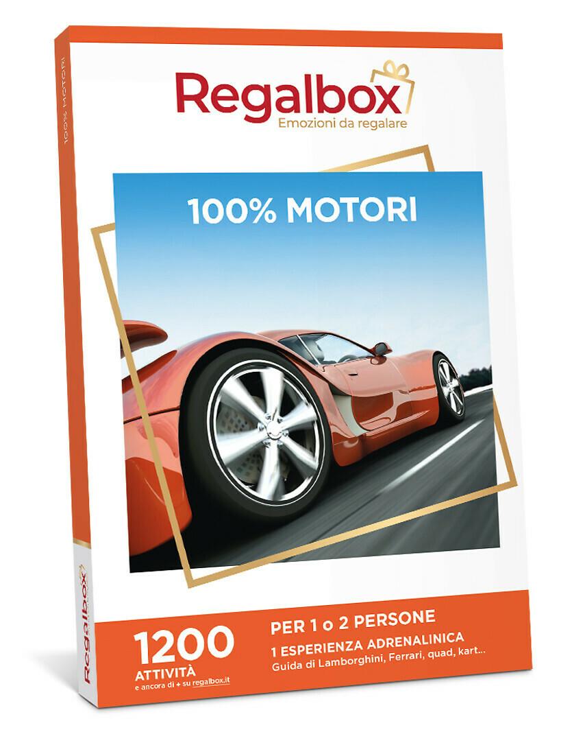 100% motori MARCHIO REGALBOX