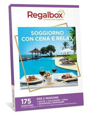 Soggiorno con cena e relax MARCHIO REGALBOX