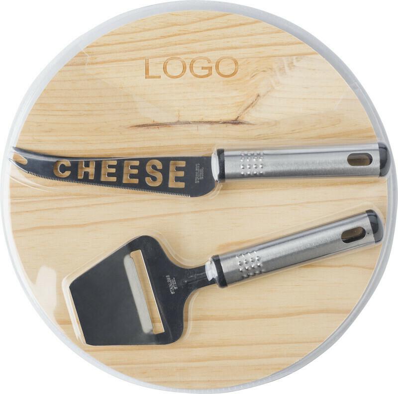 Set formaggio in legno