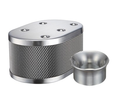 CLASSIC STYLE OVAL MESH AIR CLEANER  FOR KADRON