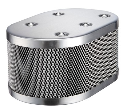 CLASSIC STYLE OVAL MESH AIR CLEANER FOR IDF AND DELLORTO CARBURATOR