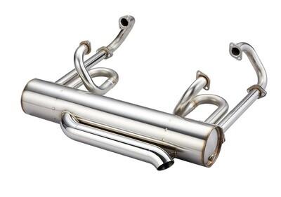 48MM SUPER SPORT EL SS143 EXHAUST SYSTEMS SPLIT BUS // USE EL-HEADER-13mm