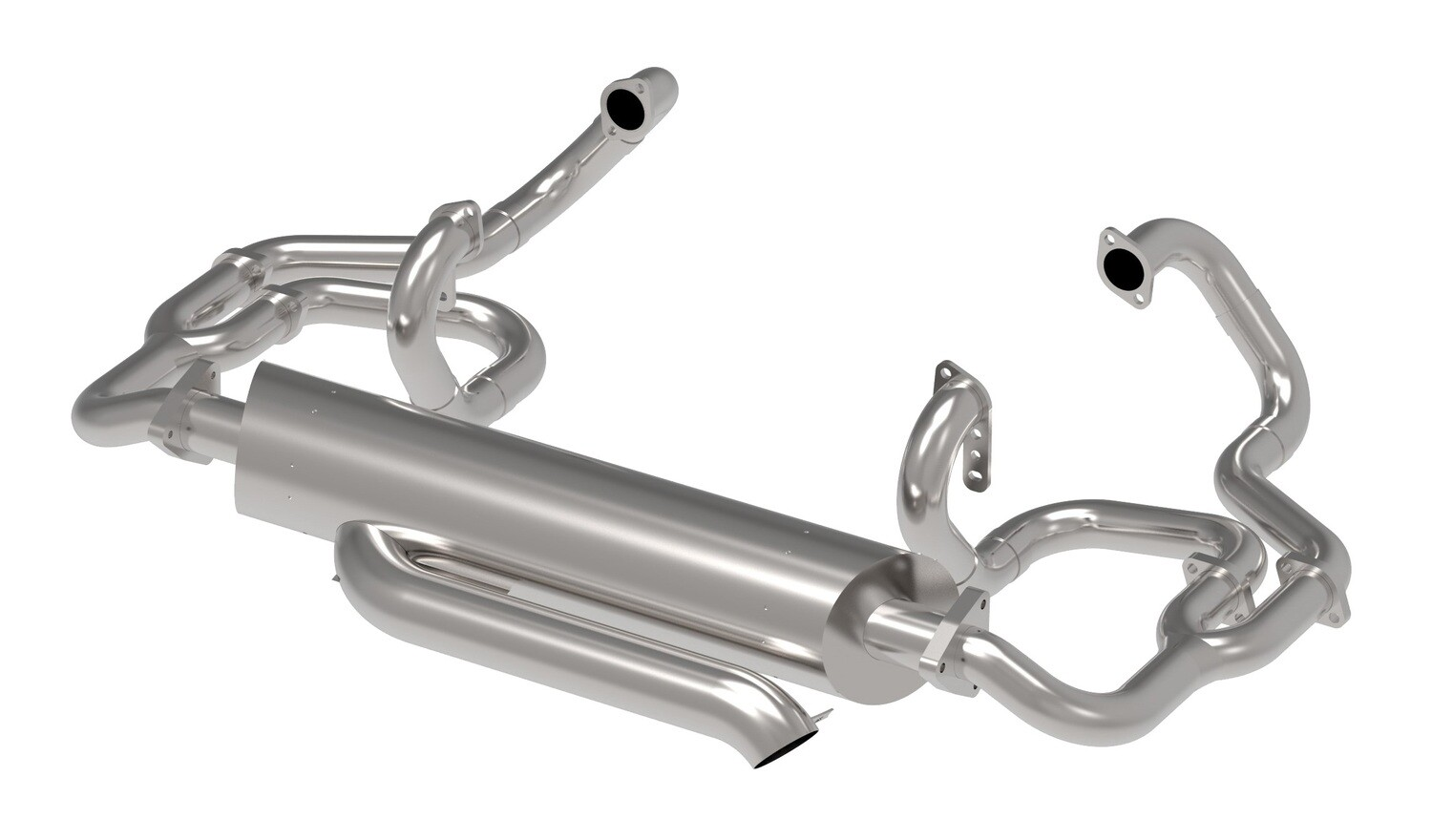43MM HEADER  Baywindow BUS, MERGE COMP 740 EXHAUST SYSTEM