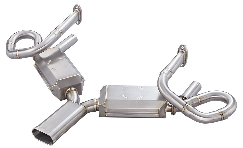 38mm Header QUIET PORSCHE 356 SEBRING STYLE EXHAUST SYSTEM