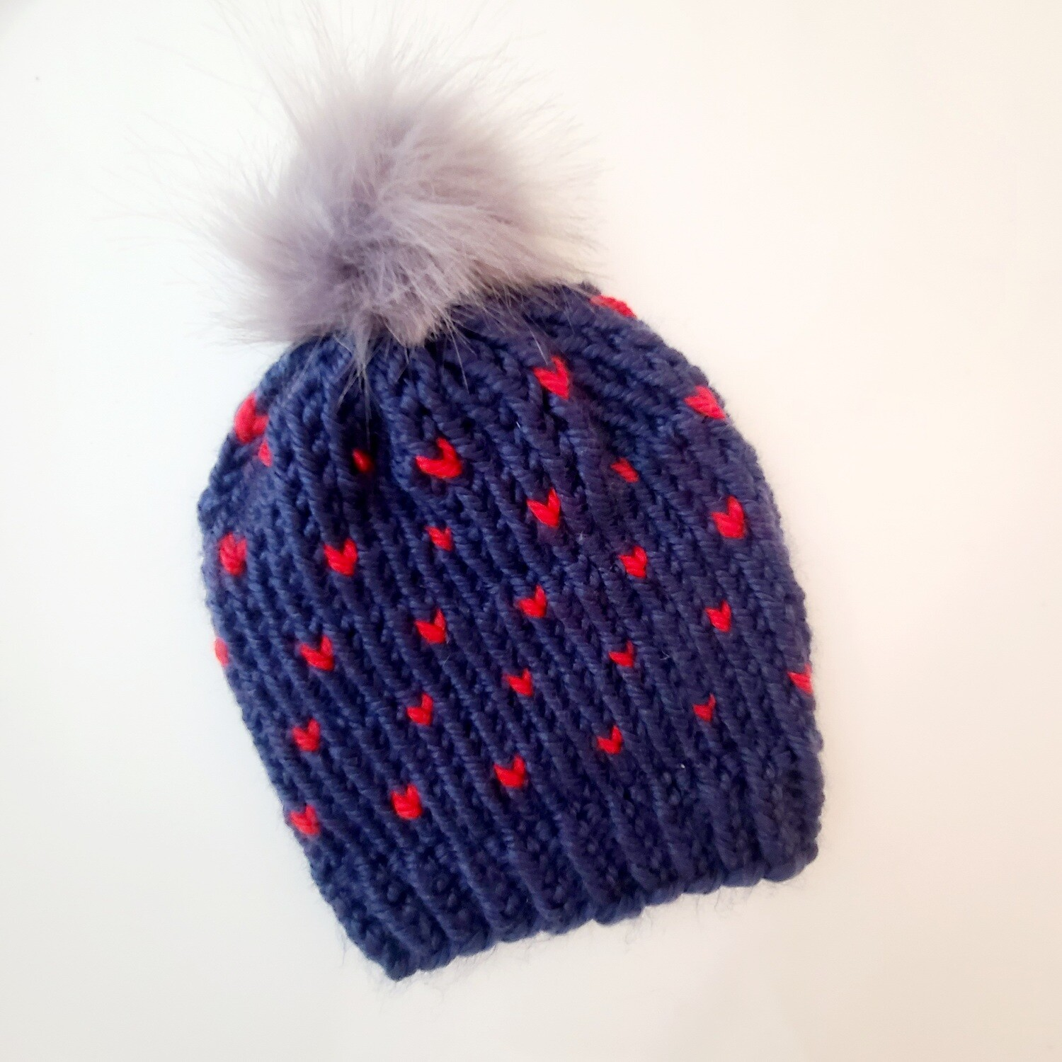 Hand Knit Hat | adult