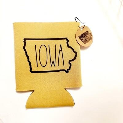 Can Cooler | Iowa | Golden