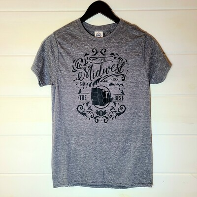 Midwest is the Best| tee | SMALL
