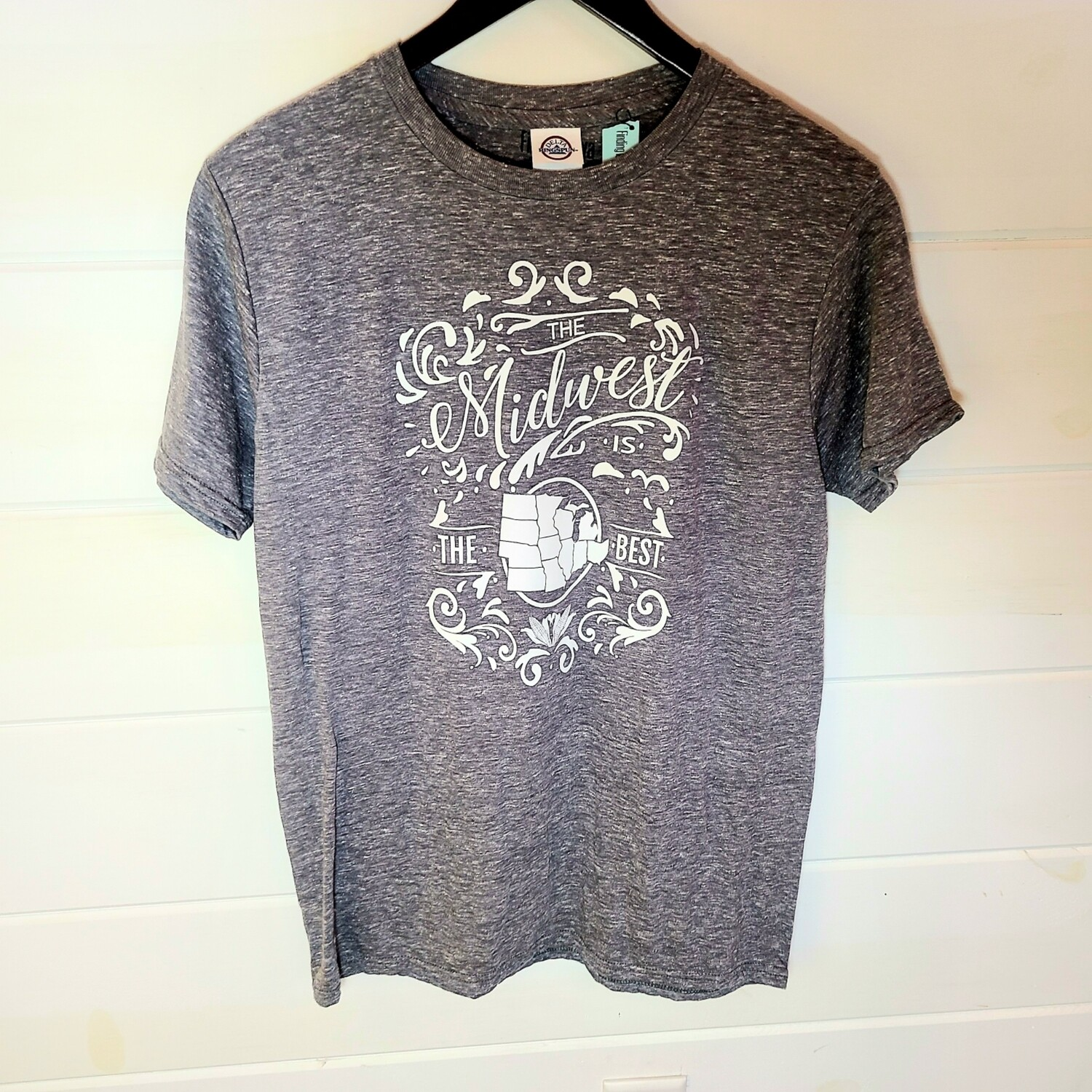 Midwest is the Best| tee | LARGE