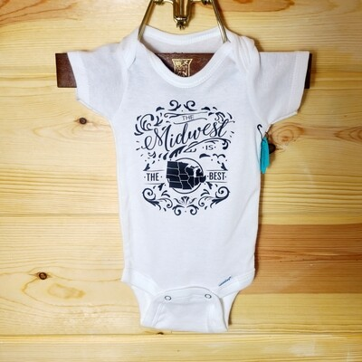 Midwest Infant Onesie | Size 0-3 month