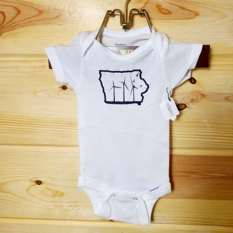 Iowa Windmill Infant Onesie | Size 0-3 month