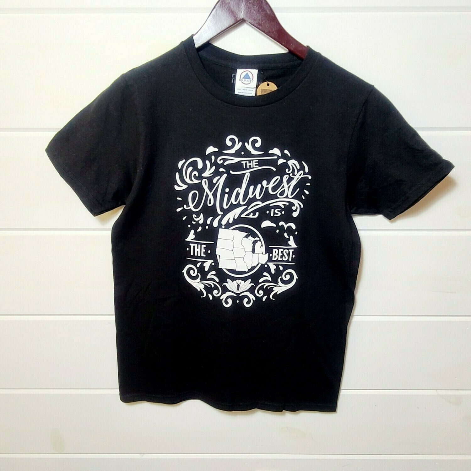 Midwest is the Best| black tee